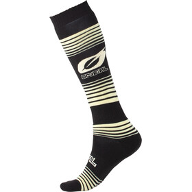 O'Neal Pro MX Calcetines Rayas, black/yellow